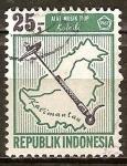Sellos del Mundo : Asia : Indonesia : Instrumentos Musicales. Keledi.