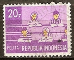 Sellos del Mundo : Asia : Indonesia : Plan Quinquenal de Desarrollo.