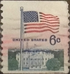 Sellos de America - Estados Unidos -  Intercambio 0,20 usd 6 cents. 1969