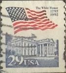 Sellos de America - Estados Unidos -  Intercambio 0,20 usd 29 cents. 1992