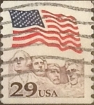 Stamps United States -  Intercambio 0,20 usd 29 cents. 1991