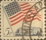 Sellos de America - Estados Unidos -  Intercambio 0,20 usd 5 cents. 1963