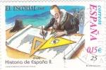 Stamps Spain -  historia de España II (19)
