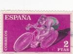 Stamps Spain -  deportes (19)