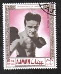 Sellos de Asia - Emiratos Árabes Unidos -  Atletas del Boxeo (Ajman)