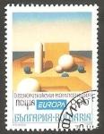 Sellos del Mundo : Europa : Bulgaria :  3505 B - Europa, Obra de Bujukliski