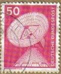Sellos de Europa - Alemania -  ALEMANIA 1975 Scott 1175 Sello Básico Industrialización Estación de Radar 50 usado Michel 851 Allema