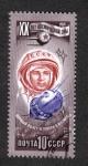 Stamps Russia -  20 Aniv de la exploración espacial