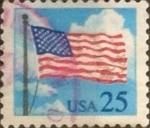 Sellos de America - Estados Unidos -  Intercambio 0,20 usd 25 cents. 1988