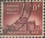 Stamps United States -  Intercambio 0,20 usd 10 cents. 1956
