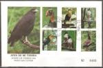 Stamps Honduras -  AVES  DE  MI  TIERRA.  SOBRE  DE  PRIMER  DÌA.