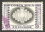 Sellos del Mundo : America : Costa_Rica : 251 - Industria Nacional de la cerámica