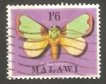 Sellos del Mundo : Africa : Malawi : 136 - Mariposa