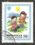 Sellos de Asia - Mongolia -  Niños