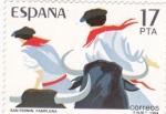 Stamps Spain -  San Fermín- Pamplona (19)