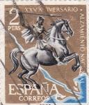 Sellos de Europa - España -  XXV aniversario alzamiento nacional (19)
