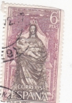 Stamps : Europe : Spain :  ntra.sra. del Parral (19)