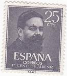 Sellos de Europa - España -  1 centenario Albeniz (19)