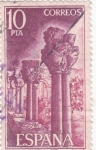 Stamps Spain -  San Juan de la Peña (19)