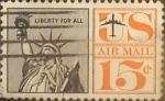 Sellos de America - Estados Unidos -  Intercambio 0,20 usd 15 cents. 1961
