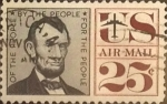 Sellos de America - Estados Unidos -  Intercambio 0,20 usd 25 cents. 1960