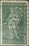 Sellos de America - Estados Unidos -  Intercambio 0,20 usd 3 cents. 1958