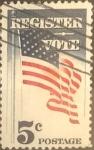 Sellos de America - Estados Unidos -  Intercambio 0,20 usd 5 cents. 1964