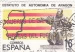 Sellos del Mundo : Europa : España : estatuto de autonomía de Aragón (19)