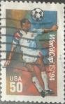 Sellos del Mundo : America : Estados_Unidos : Intercambio 0,20 usd 50 cents. 1994