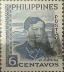 Stamps : Asia : Philippines :  Intercambio 0,20 usd 6 cents. 1959