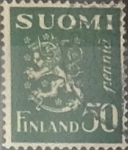 Stamps : Europe : Finland :  Intercambio 0,20 usd 50 p. 1932