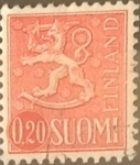 Stamps : Europe : Finland :  Intercambio 0,20 usd 20 p. 1963