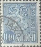 Stamps : Europe : Finland :  Intercambio 0,20 usd 40 p. 1967