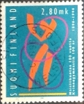 Stamps : Europe : Finland :  Intercambio 0,55 usd 2,80 m. 1996