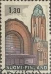 Stamps : Europe : Finland :  Intercambio 0,20 usd 1,30 m. 1971