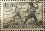 Sellos de Europa - Finlandia -  Intercambio 0,20 usd 1,50 m. 1963