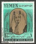 Stamps : Asia : Yemen :  Rey de Arábia