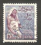 Sellos del Mundo : Africa : Sudán :  145 - Recogiendo algodón