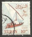 Stamps Sudan -  154 - Barco pesquero