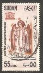 Sellos del Mundo : Africa : Sudán : 164 - Salvar los Monumentos de Nubia, Arcangel Michel