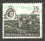 Stamps America - Trinidad y Tobago -  185 - Lago de alquitrán