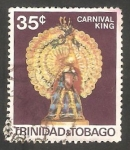 Stamps America - Trinidad y Tobago -  218 - Carnaval de Puerto España, Rey del Carnaval