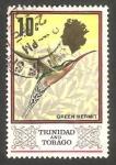Stamps America - Trinidad y Tobago -  236 - Elizabeth II, pájaro colibrí