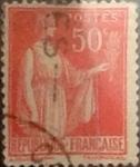 Sellos de Europa - Francia -  Intercambio 0,25 usd 50 cents 1932