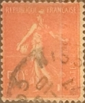 Stamps France -  Intercambio 0,25 usd 50 cents. 1926