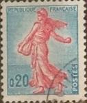 Sellos de Europa - Francia -  Intercambio 0,20 usd 20 cents. 1960