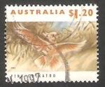 Stamps Australia -  Cacatua