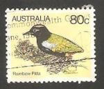 Stamps Australia -  Pájaro en nido