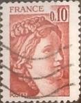 Sellos de Europa - Francia -  Intercambio 0,20 usd 10 cents. 1977