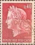 Sellos del Mundo : Europa : Francia : 40 cents. 1969